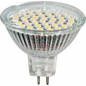 Лампа GLANZEN LED MR-16, GU5,3, 7Вт 2700К ал.мат.